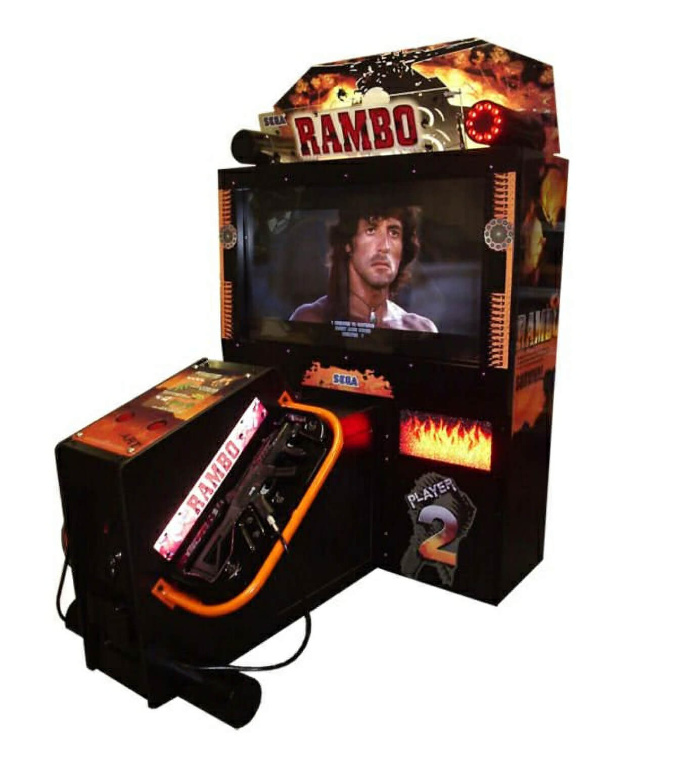 Sega Rambo Deluxe Arcade Machine Liberty Games