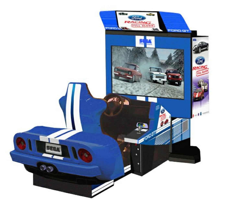 Sega Ford Racing Full Blown Deluxe Arcade Machine