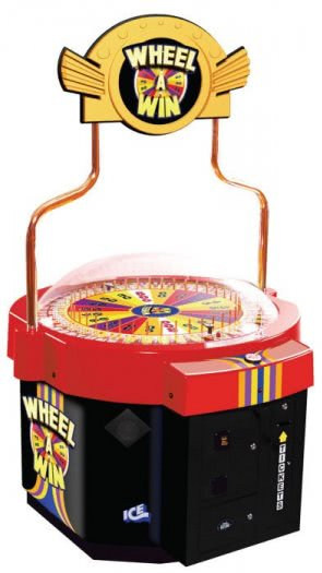 I.C.E. Wheel A Win Novelty Redemption Machine