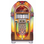 Rock-Ola Bubbler Walnut CD Jukebox