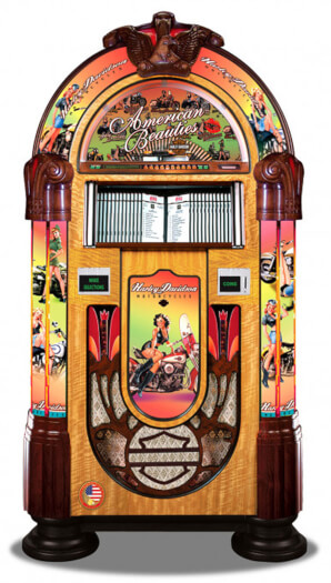 Rock-Ola Harley Davidson: American Beauties CD Jukebox