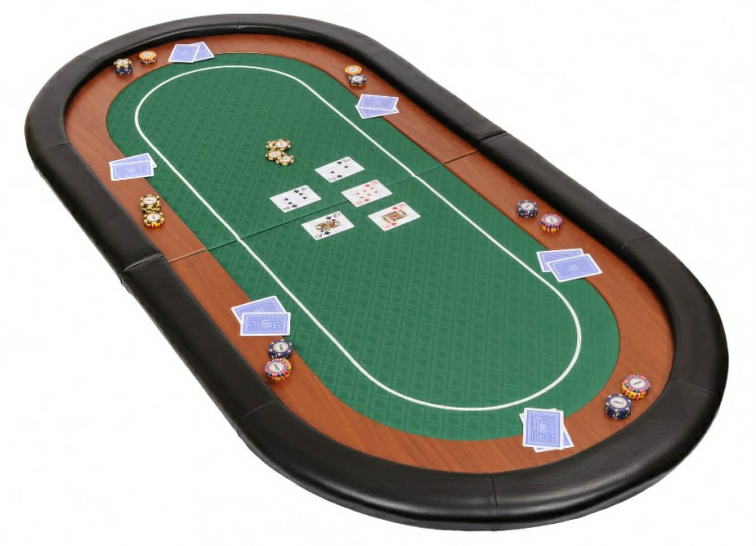 champion folding poker table top liberty games