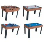 Riley 4 foot 4-in-1 Multi Games Table (M4B-1)
