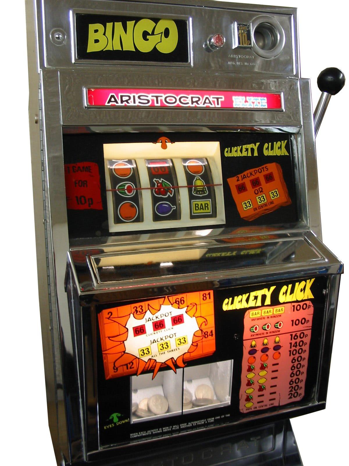 Aristocrat Bingo One Arm Bandit Liberty Games