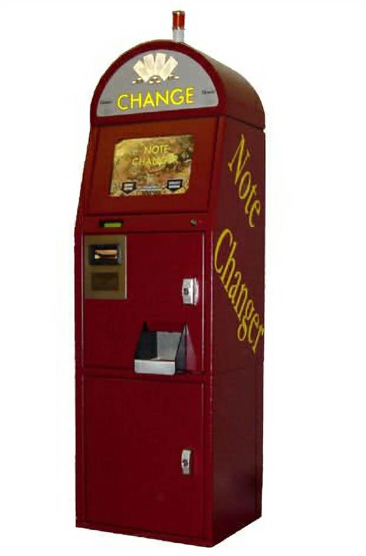 change for machine