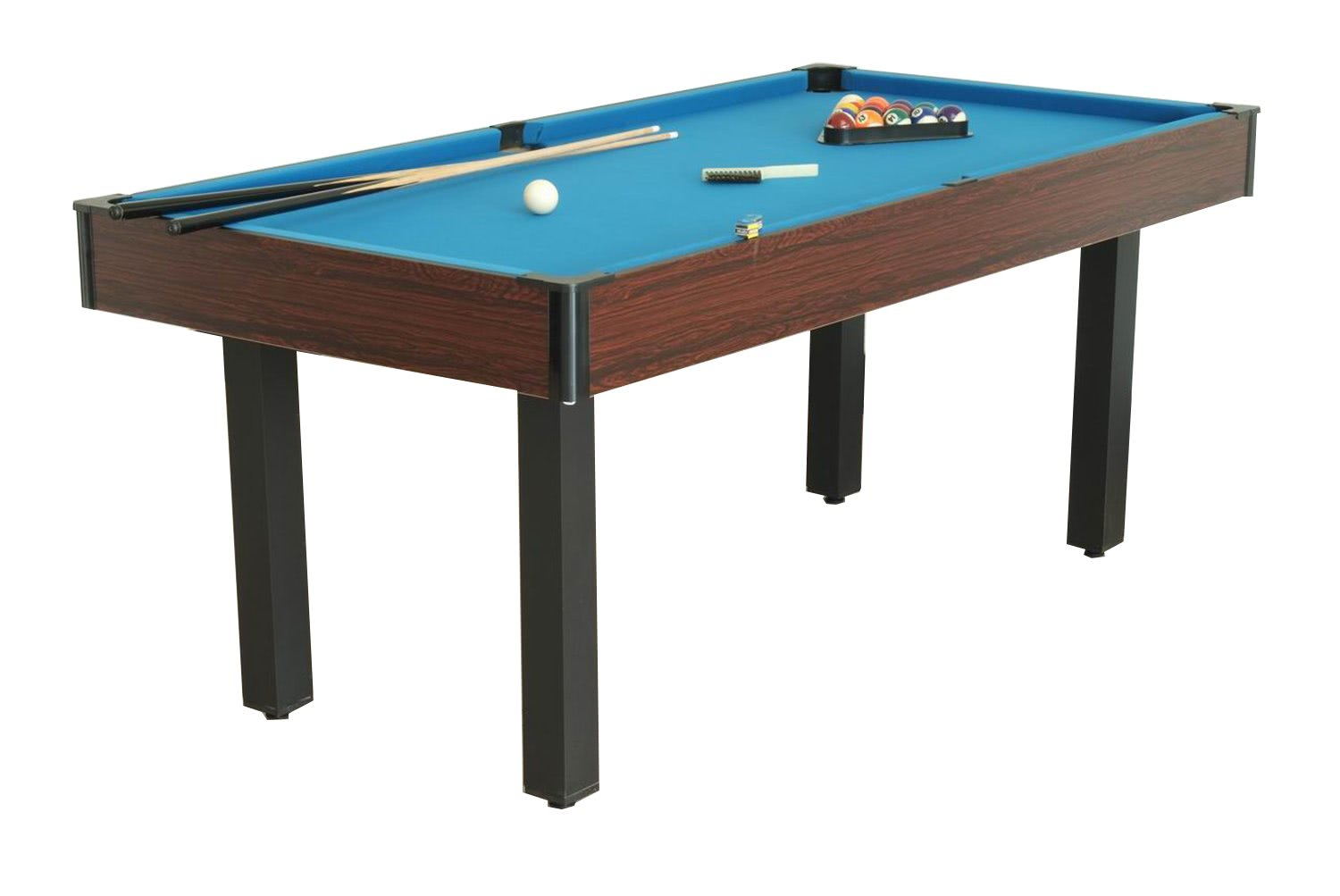 Bce 6 foot rosewood multi games table isd1055 liberty for Table 6 games