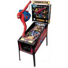 Stern Spider-Man Pinball Machine