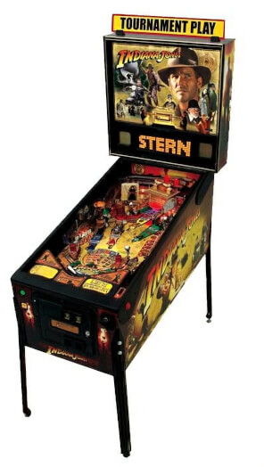 Stern Indiana Jones Pinball Machine