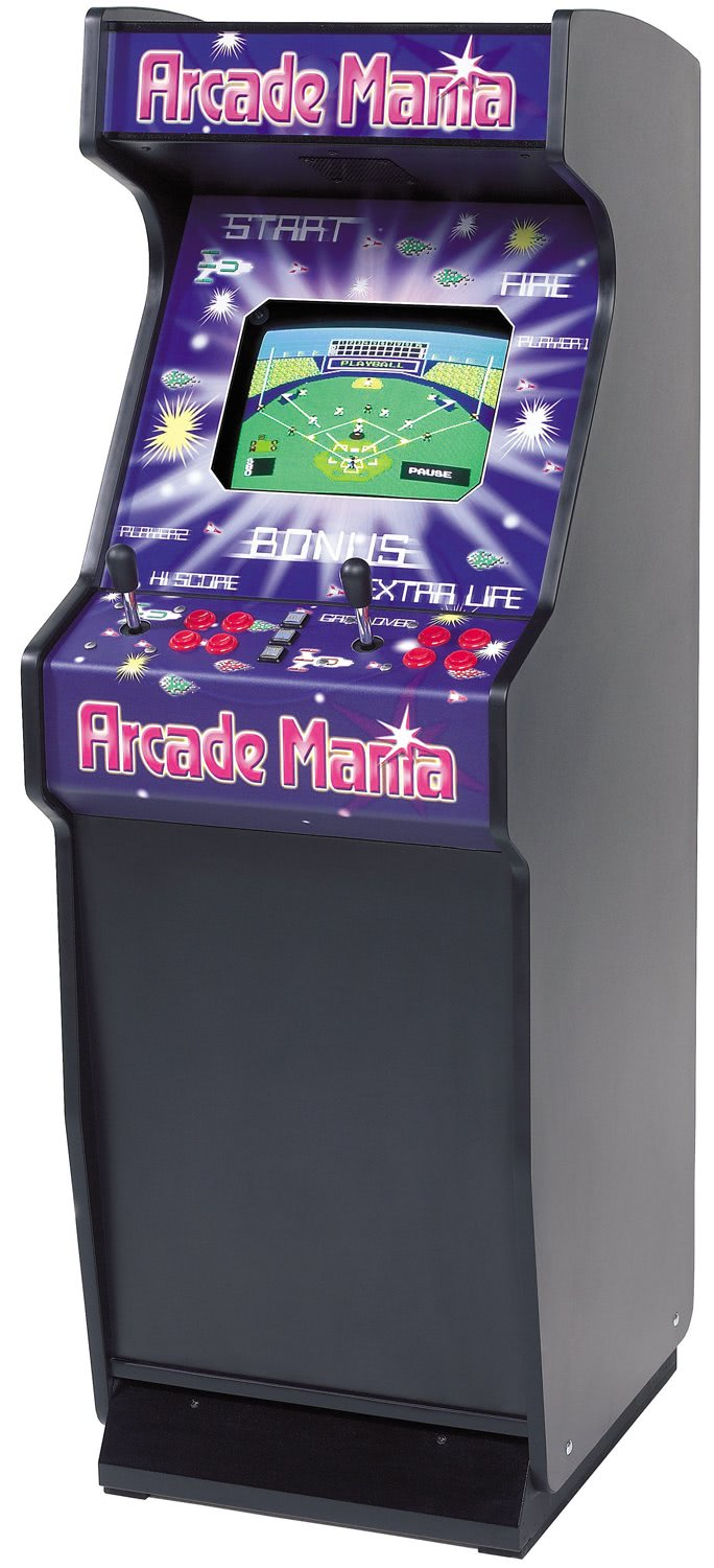 Arcade Mania Upright Arcade Machine Liberty Games
