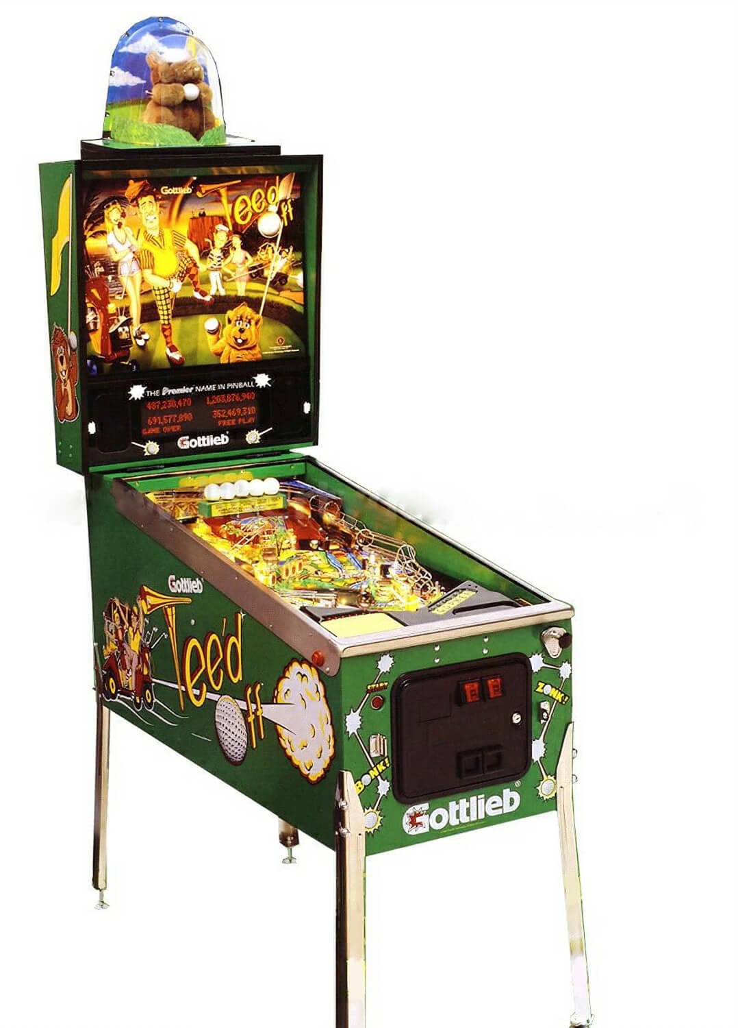 Teed Off Pinball Machine Liberty Games