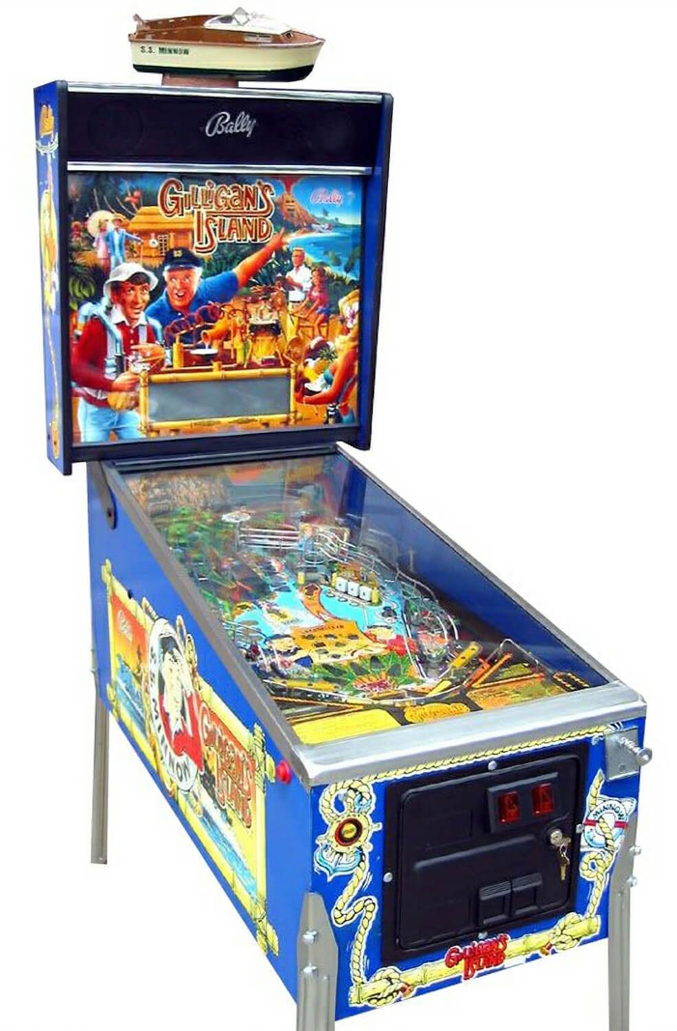 Gilligan S Island Pinball Machine Liberty Games