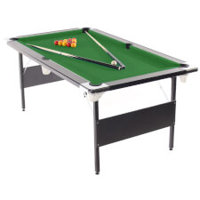 Deluxe Foldaway Folding Leg Pool Table