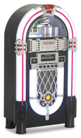 Ricatech Multimedia Retro XL LED Replica Jukebox (RR1000)