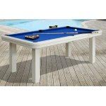 Billiards Plaisance Seychelles American Outdoor Slate Bed Pool Table