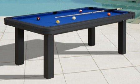 Billiards Plaisance Hawai Outdoor American Slate Bed Pool Table