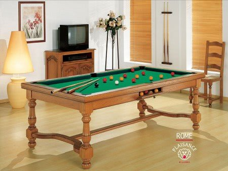 Billards Plaisance Rome Slate Bed Pool Table