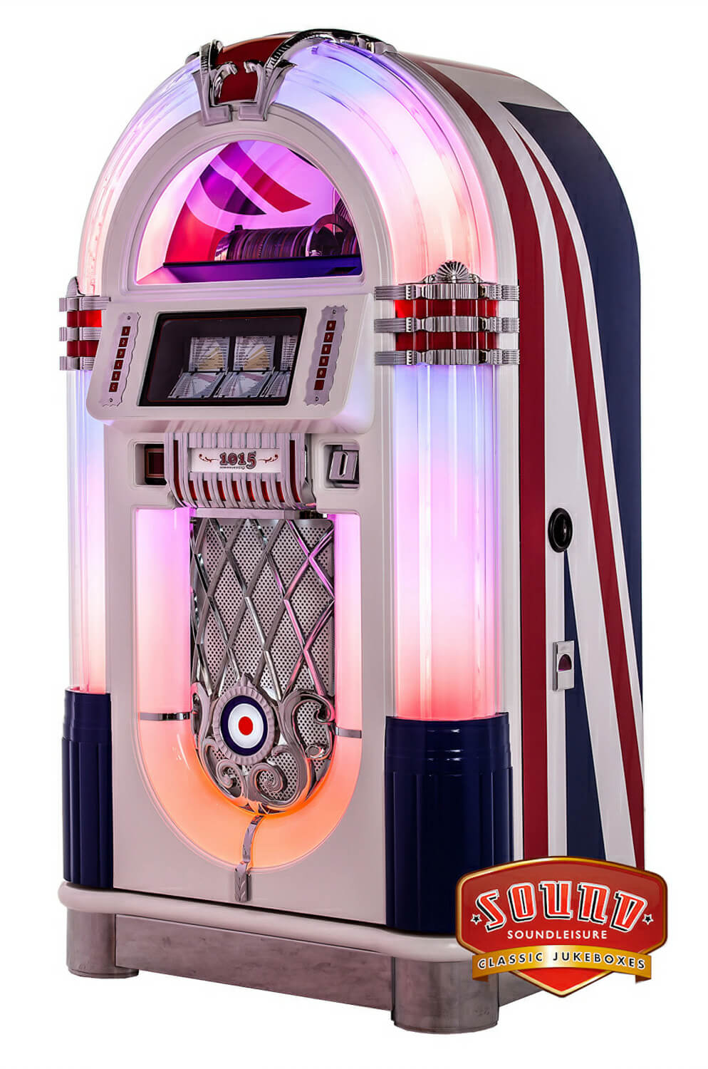 Sound Leisure Juke Britannia Cd Jukebox Liberty Games