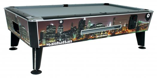 New York American Slate Bed Pool Table