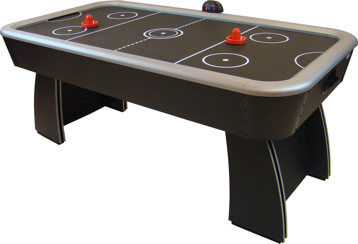 Gamesson spectrum air hockey table liberty games for Table hockey