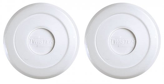 Twister 70mm White Air Hockey Puck (30-0070)