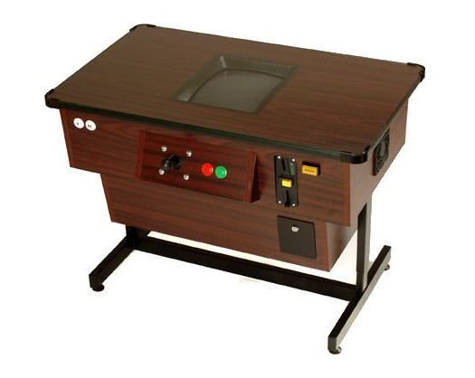 Voyager Digital Cocktail Table Retro/Multiplay Arcade Machine