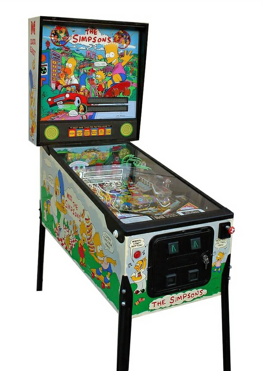 The Simpsons Pinball Machine Liberty Games : 3600simpsons pinball from www.libertygames.co.uk size 700 x 984 jpeg 111kB