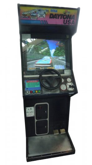Sega Daytona USA Arcade Machine
