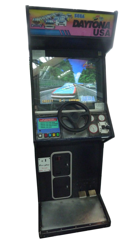 Sega Daytona Usa Arcade Machine Liberty Games