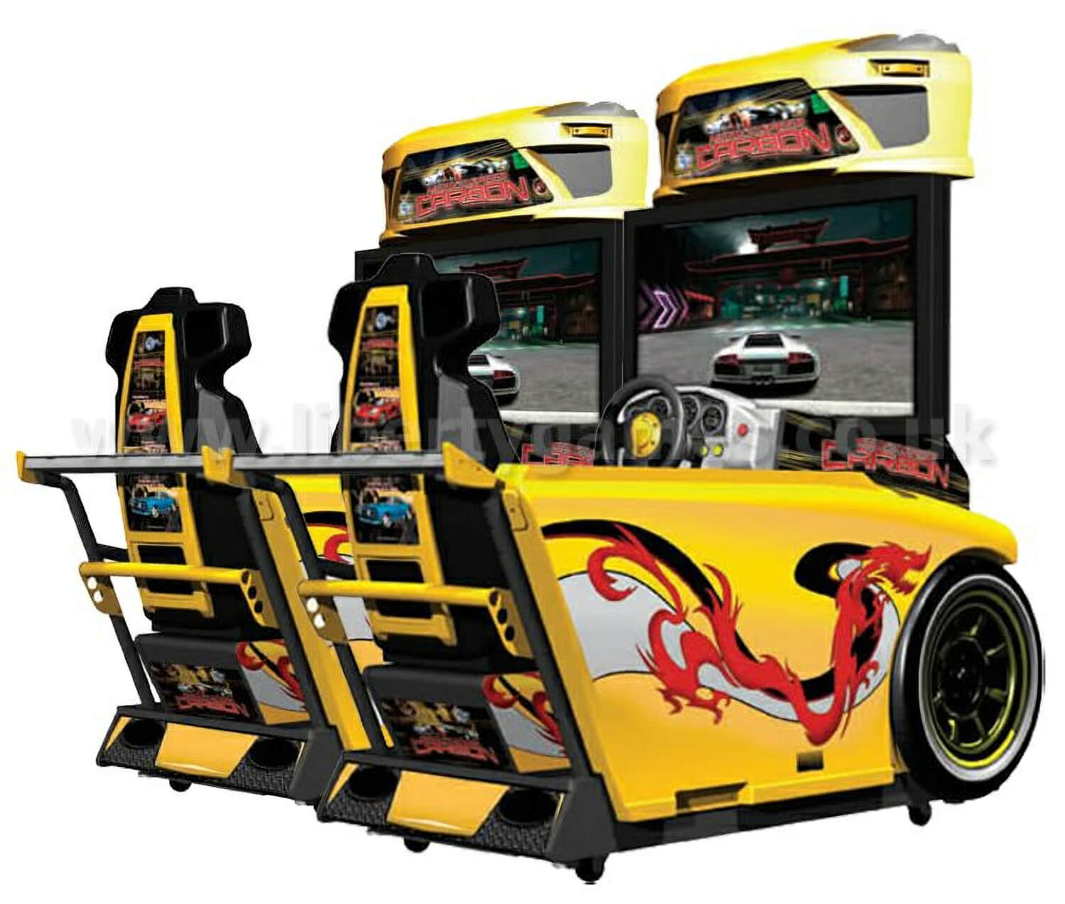 Need For Speed Carbon Twin Deluxe Arcade Machine Liberty