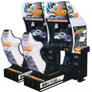Initial D Twin Arcade Machine