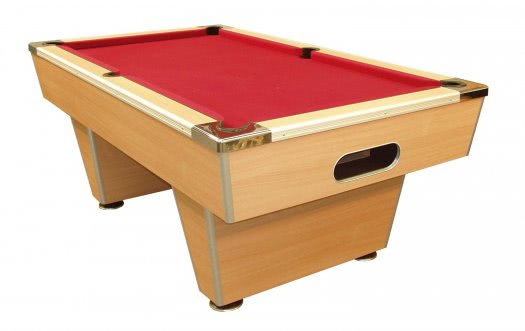 Milan Slate Bed Pool Table