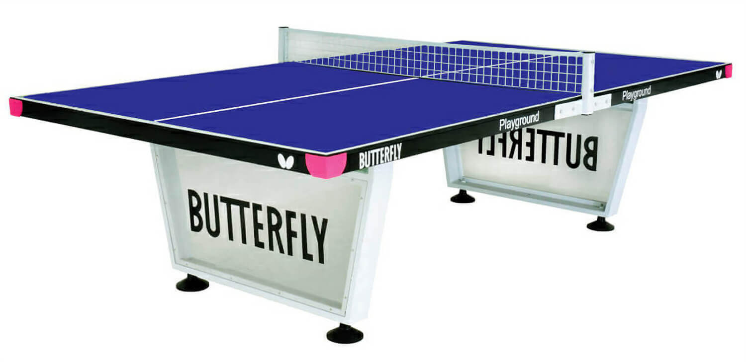 Butterfly playground outdoor table tennis table liberty - Weatherproof table tennis table ...