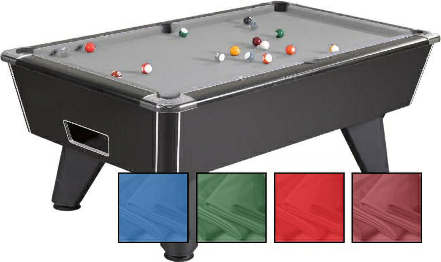 Pool Table Recovering Service 8ft Slate Bed Pool Table