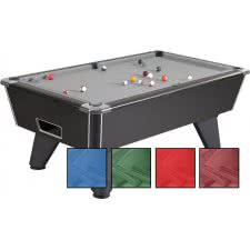 Pool Table Recovering Service - 8ft Slate Bed Pool Table
