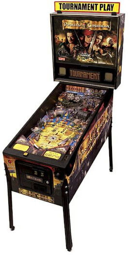 Stern Pirates Of The Caribbean Pinball Machine