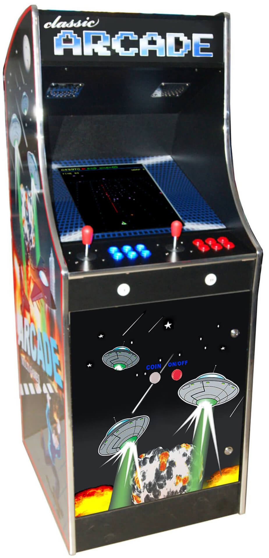 Cosmic 80s Multi Game Arcade Machine Liberty Games