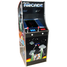 Cosmic 80s Multi Game Arcade Machine
