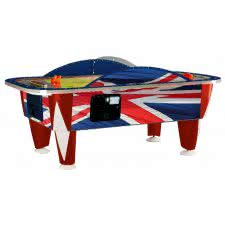Yukon Union Jack 8 foot Commercial Air Hockey Table