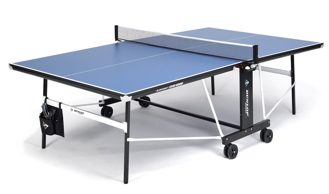 Dunlop evo 6000 hd indoor table tennis liberty games for Table tennis