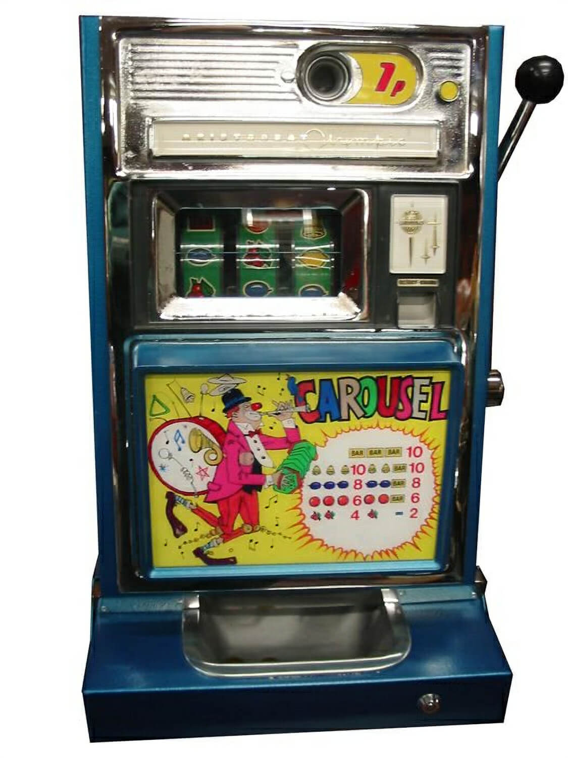 Aristocrat Carousel One Arm Bandit Liberty Games