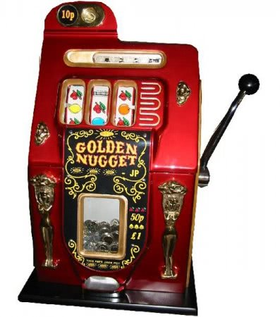Mills Golden Nugget One Arm Bandit