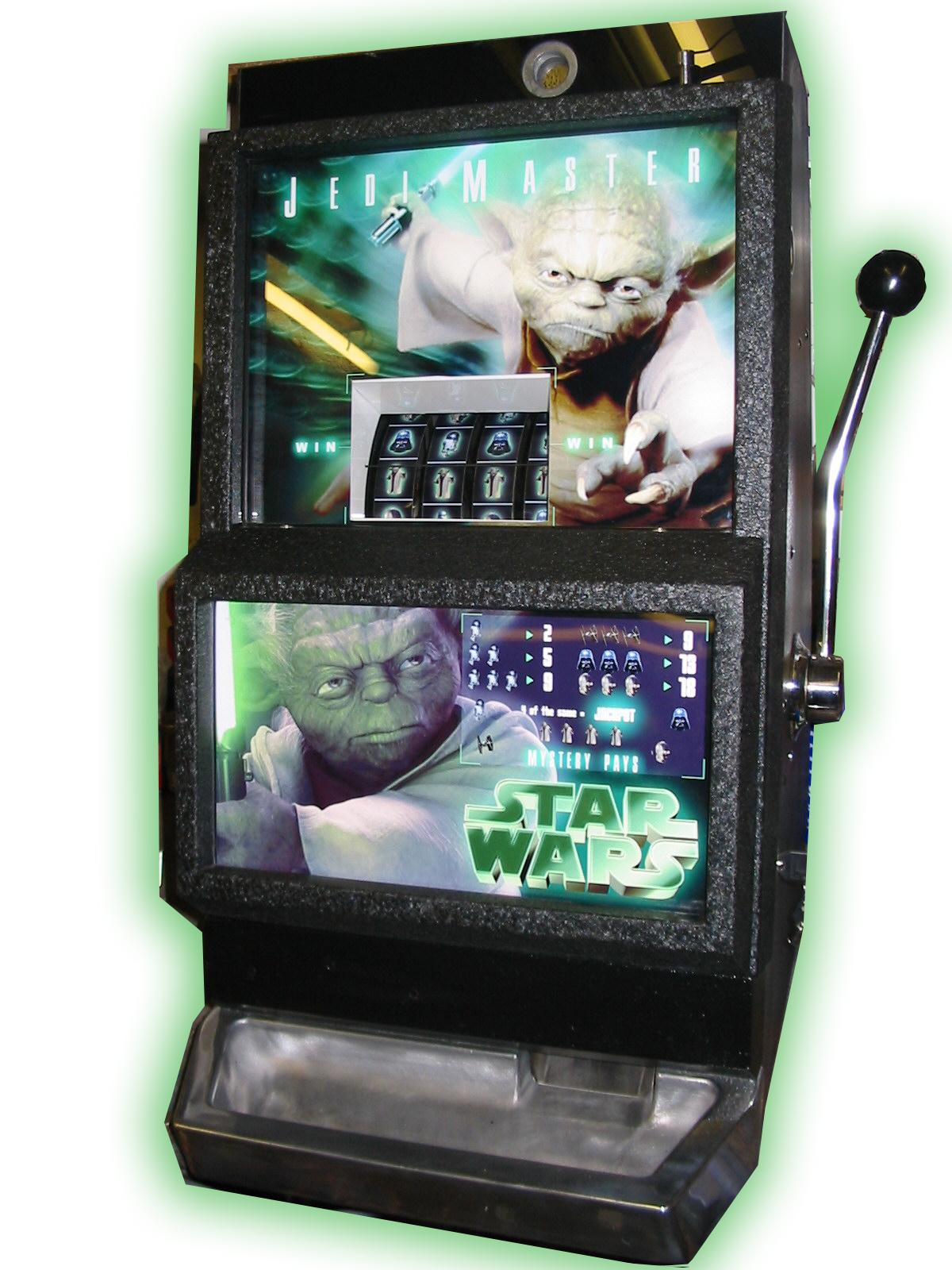 Star Wars Jedi Master One Arm Bandit Liberty Games