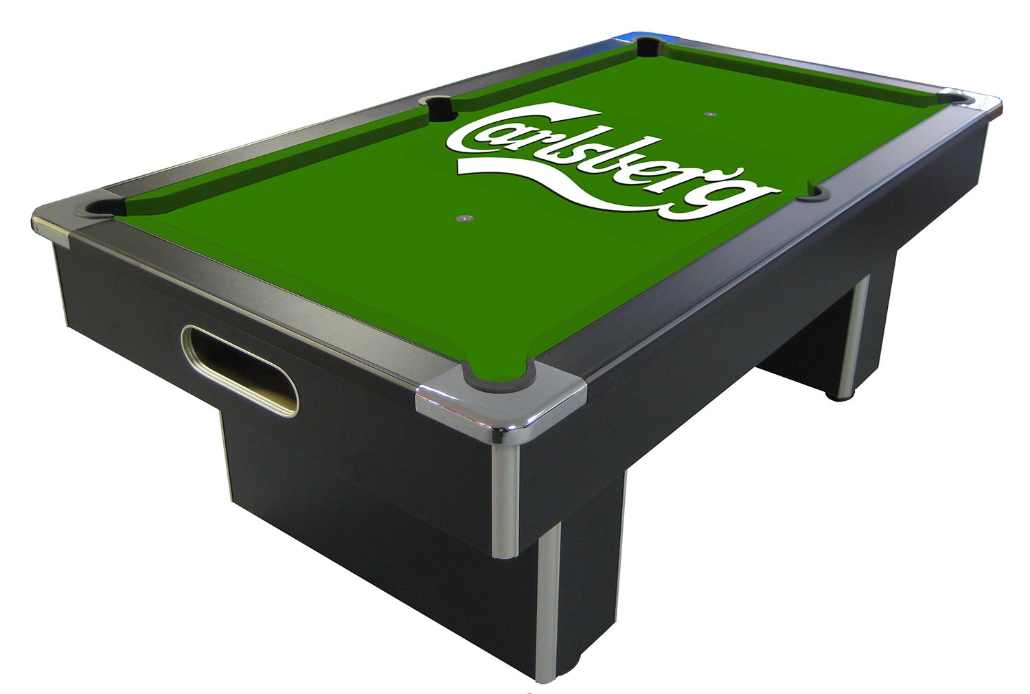 Carlsberg Slate Bed Pool Table - 6 ft, 7 ft : Liberty Games