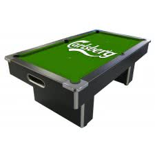 Carlsberg Slate Bed Pool Table