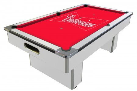 Budweiser Slate Bed Pool Table