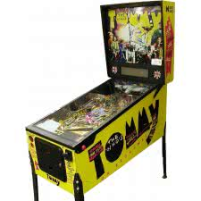The Who's Tommy Pinball Wizard Pinball Machine