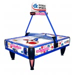 Sonic Sports 7.5 foot Commercial Air Hockey Table