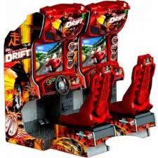 Raw Thrills Fast And The Furious Drift Twin Arcade Machine