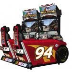 Global VR Nascar Team Racing Deluxe Twin Arcade Machine