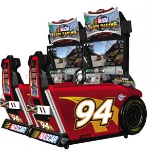 Nascar Team Racing DX Twin Arcade Cabinet
